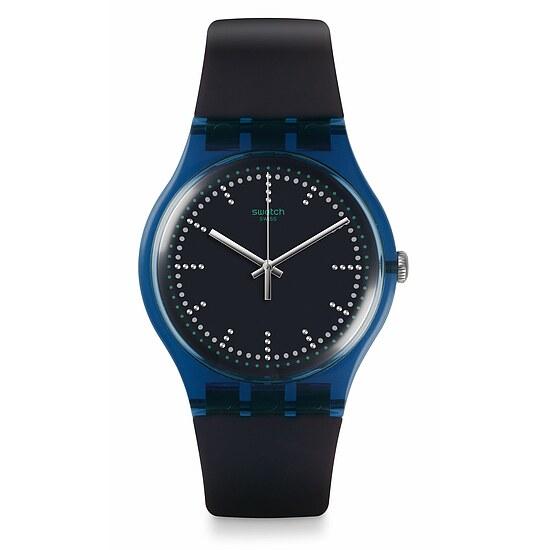 Swatch Uhr SUON121 A TRAVELER'S DREAM  New Gent Blue Pillow