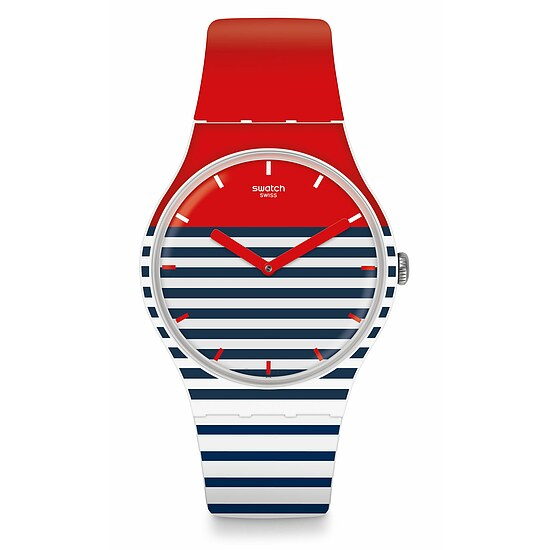 Swatch Uhr SUOW140 A TRAVELER'S DREAM New Gent Maglietta