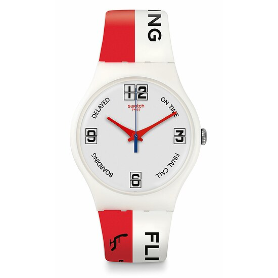 Swatch Uhr SUOW141 A TRAVELER'S DREAM  New Gent Go to Gate