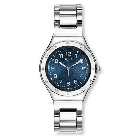 Swatch Uhr YGS474G A TRAVELER'S DREAM Irony Big Blue Pool