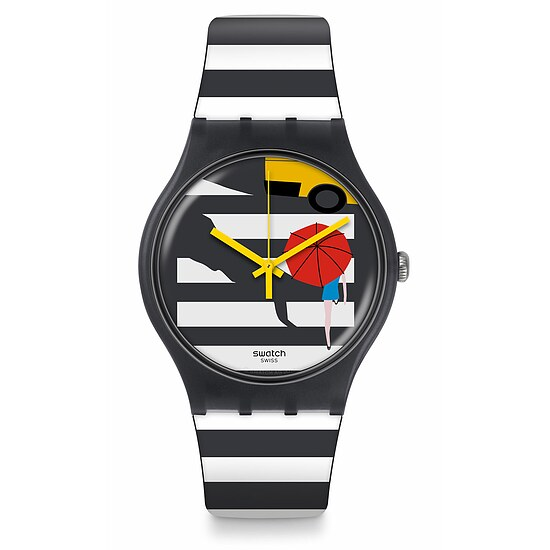 Swatch Uhr SUOM108 MOSAICI & MORE New Gent Cross the Path
