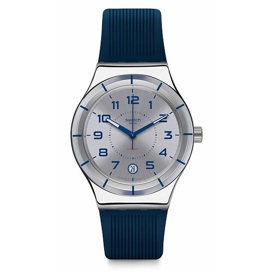 Swatch Uhr YIS409 SISTEM51 Irony Automatic Sistem Navy