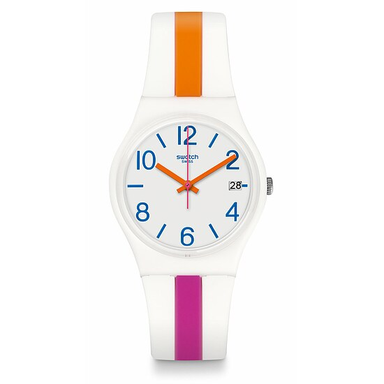 Swatch Uhr GW408 ACTION HEROES Pinkline