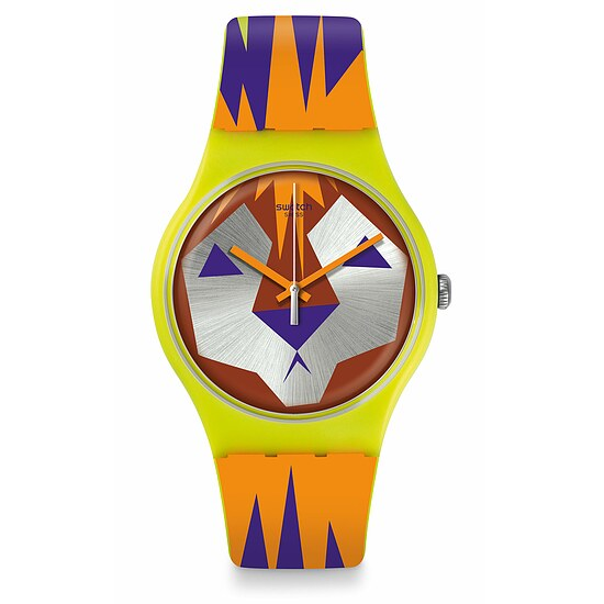 Swatch Uhr SUOJ106 ACTION HEROES New Gent Moofasa