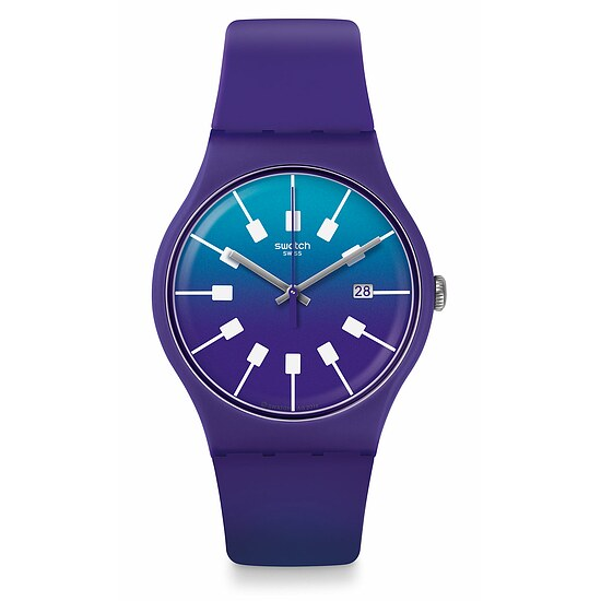 Swatch Uhr SUOV400 ACTION HEROES New Gent Crazy Sky