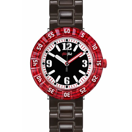 Flik Flak Uhren-Serie FCSP057 A DAY AT THE BEACH Kinderuhr Power Time Boys (7+) Snorkeling Black