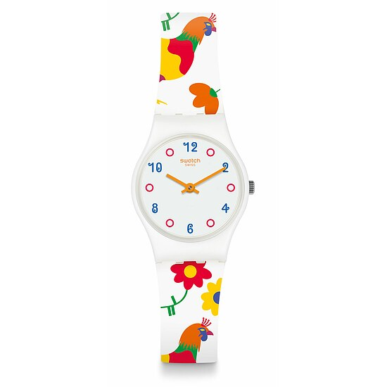Swatch Uhr LW154 COUNTRYSIDE Original Lady Polletto