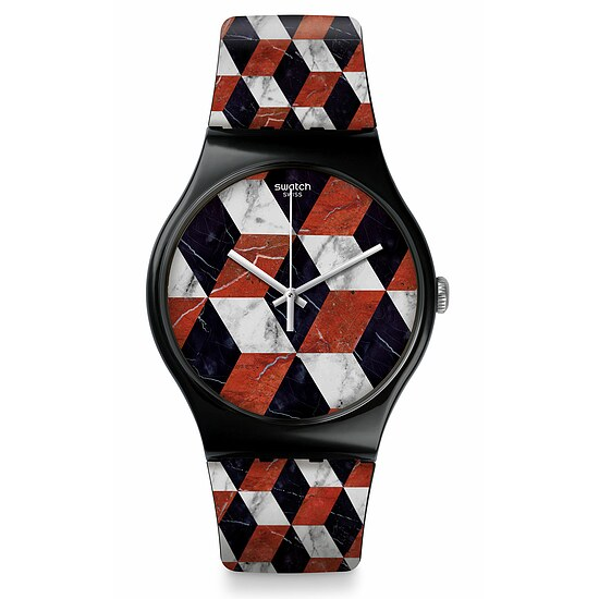 Swatch Uhr SUOB142 COUNTRYSIDE New Gent Pavimento