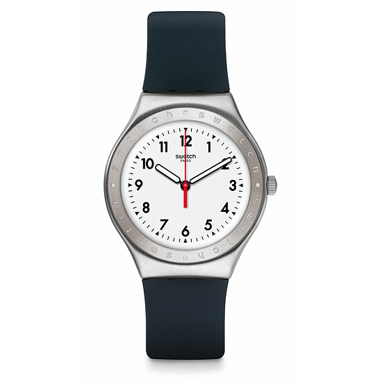 Swatch Uhr YGS135 TIME TO SWATCH Irony Big Black Reflexion