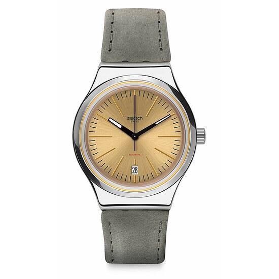 Swatch Uhr YIS411 SISTEM51 Irony Automatic Sistem Sand