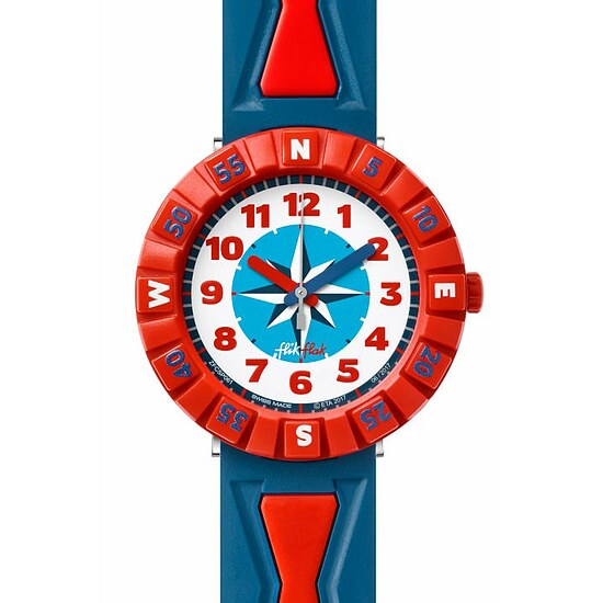 Flik Flak Uhren-Serie FCSP061 GREAT CAMPING Kinderuhr Power Time Boys (7+) Get it in Bred