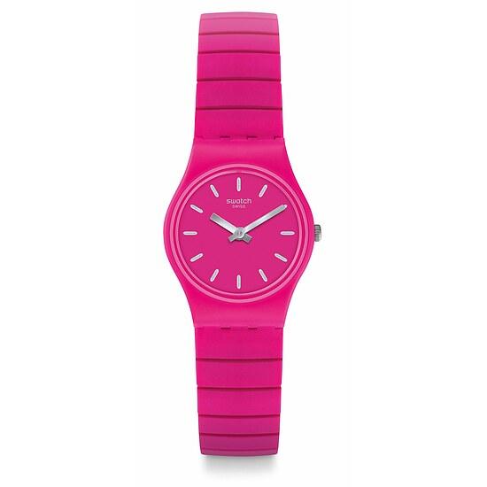 Swatch Uhr LP149A COLOR STUDIO Original Lady Flexipink L