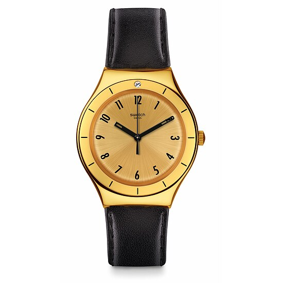 Swatch Uhr YGG105 A GALA NIGHT Irony Big Coraggiosa