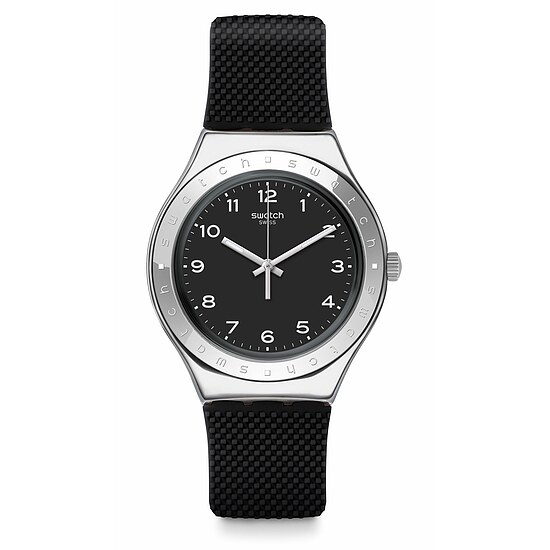 Swatch Uhr YGS137 TIME TO SWATCH Irony Big Charbon