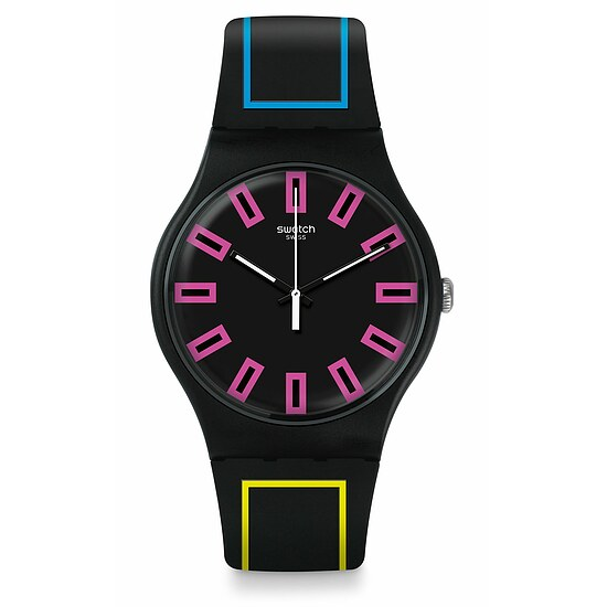 Swatch Uhr SUOB146 THE SWATCH VIBE  New Gent Around the Strap