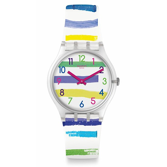 Swatch Uhr GE254 MEDITERRANEAN VIEWS Gent Colorland
