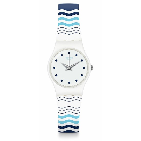 Swatch Uhr LW157 MEDITERRANEAN VIEWS Original Lady Vents et Marees