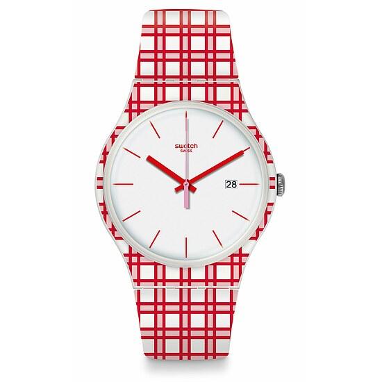 Swatch Uhr SUOW401 MEDITERRANEAN VIEWS New Gent Picknick