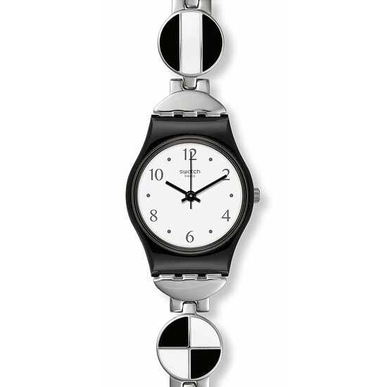 Swatch Uhr LB185G TIME TO SWATCH Original Lady Blackiniere