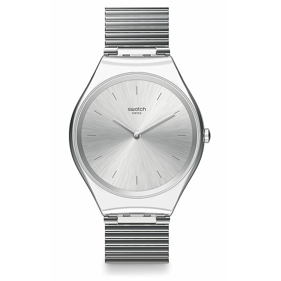 Swatch Uhr SYXS103GG The Future Classic SKIN IRONY Skinpole
