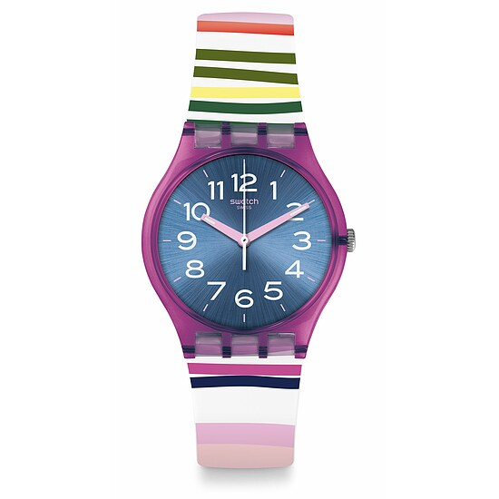 Swatch Uhr GP153 WORLDHOOD Gent Funny Lines