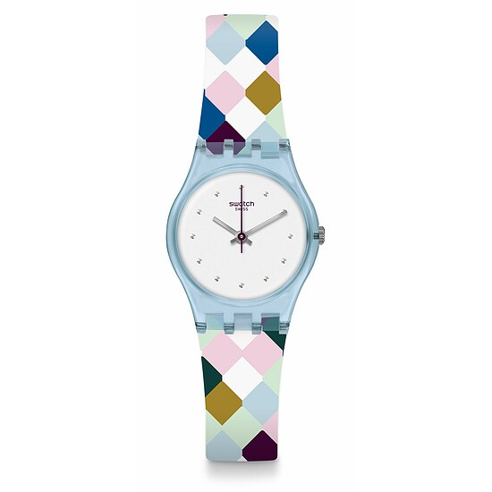 Swatch Uhr LL120 WORLDHOOD Original Lady Arle-Queen