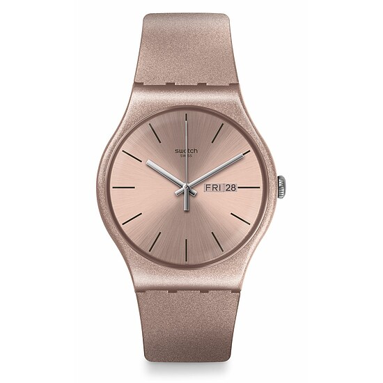 Swatch Uhr SUOP704 WORLDHOOD New Gent Pinkbayang