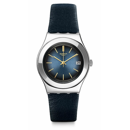 Swatch Uhr YLS460 IRONY Medium Bluflect