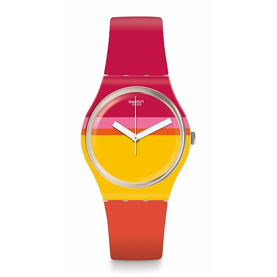 Swatch Uhr GW198 THINK FUN Gent Roug'Heure