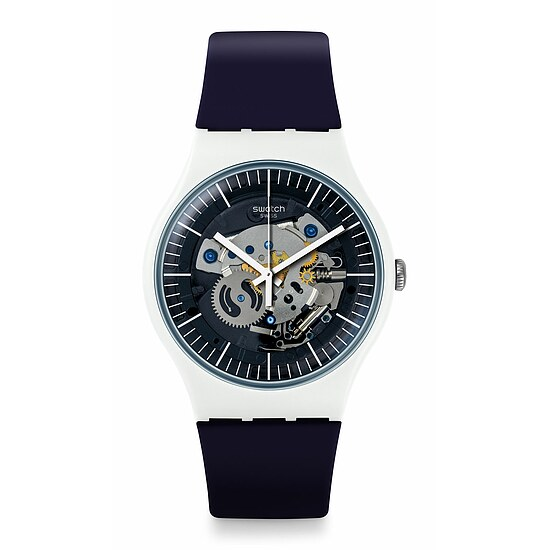 Swatch Uhr SUOW156 THINK FUN New Gent Siliblue