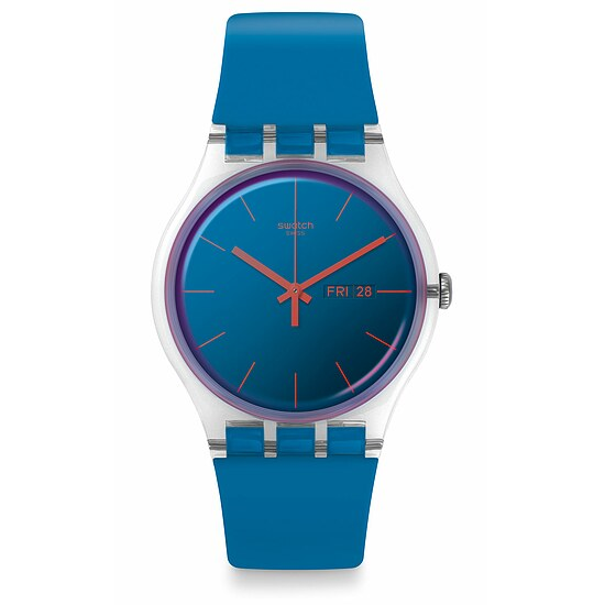 Swatch Uhr SUOK711 TRANSFORMATION New Gent Polablue