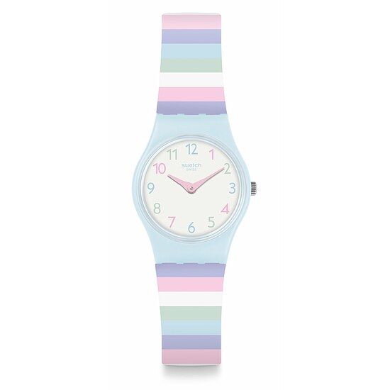 Swatch Uhr LL121 LISTEN TO ME Original Lady Pastep