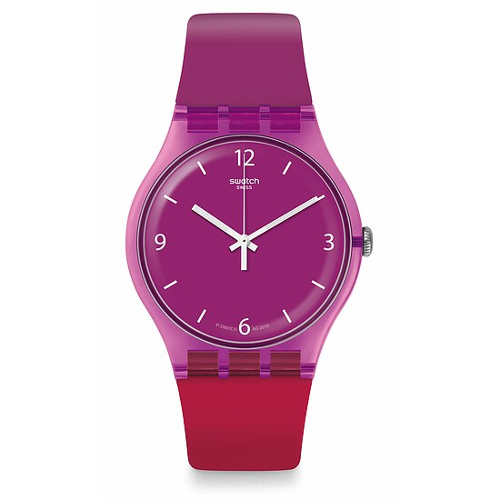 Swatch Uhr SUOV104 ENERGY BOOST New Gent Cherryberry