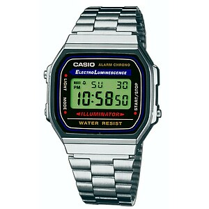 Casio Uhren Retro Collection A168WA-1YES
