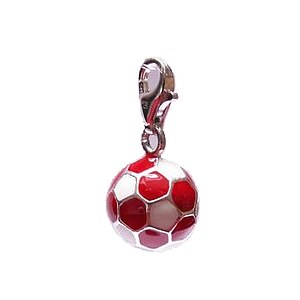 Thomas Sabo Anhänger CC 0504 CHARM CLUB Fußball in rot/weiss - 04504