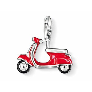 Thomas Sabo CC 0827 Anhänger Scooter CHARM CLUB Roller rot - 04827