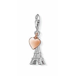 Thomas Sabo CC 0904 Anhänger CHARM CLUB Eiffelturm Herz roségoldfarben