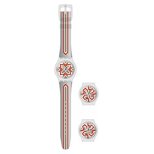 Swatch Uhren Jelly in Jelly Puzzle Motion SUPK 100 Moving Flower - 05329