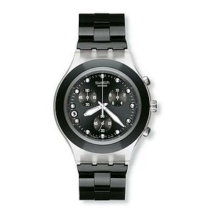 Swatch Diaphane Chrono SVCK 4035 G Full-Blooded Night - 05609