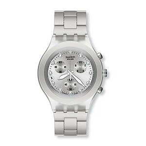 Swatch Diaphane Chrono SVCK 4038 G Full-Blooded Silver - 05612