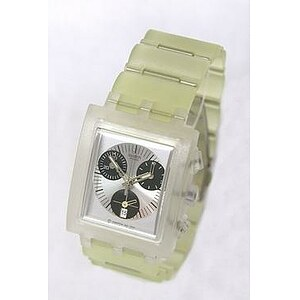 Swatch Uhr Square Chrono SUEK 400C Whitesunday - 05704