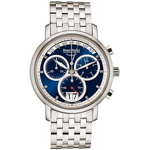 Bruno Söhnle Glashütte Uhren-Serie 17-13143-342 Herrenchronograph Marcato