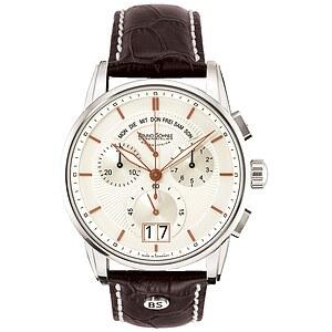 Bruno Söhnle Glashütte Uhren 17-13117-245 Herrenchronograph Grandioso