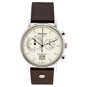 Bruno Söhnle Glashütte Uhren-Serie 17-13135-141 Herrenchronograph Rondograph