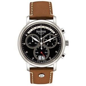 Bruno Söhnle Glashütte Uhren-Serie 17-13143-841 Herrenchronograph Marcato