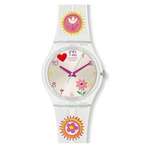 Swatch GE 230 Uhr Cuddle-Crafts Gent Lucky Pads - 06394