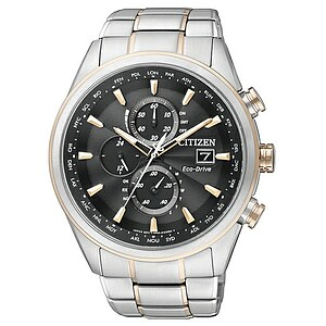 Citizen Uhren AT8017-59E Eco-Drive Radio Controlled Funkchrono Elegant bicolor - 06406