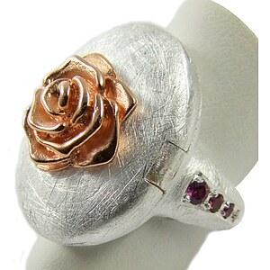 Silberschmuck Rose of Antoine / Vergissmeinnicht D VMA ROF 11/AG Ring von Drachenfels