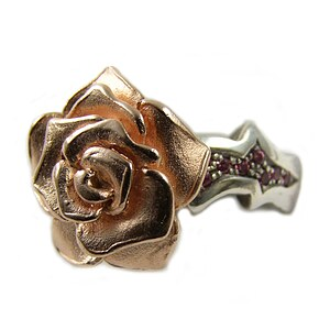 Silberschmuck Rose of Antoine D ROF 11-5/VG Ring