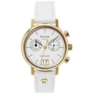 Bruno Söhnle Glashütte Uhren-Serie 17-33172-291 Damenchronograph Rondograph Lady